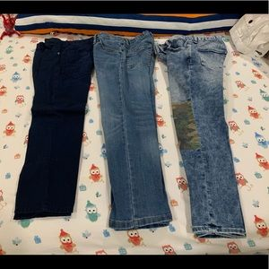 3 Pairs of Name Brand Jeans